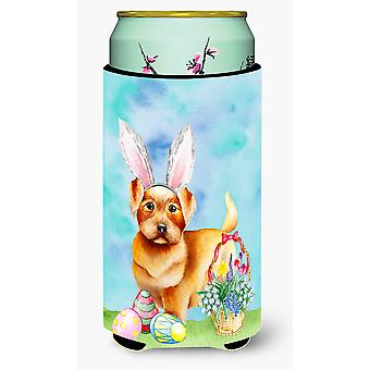 Norfolk Terrier Easter Bunny Tall Boy Beverage Insulator Hugger