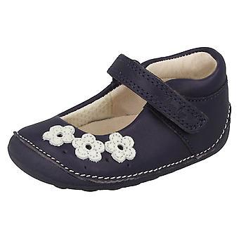 Chaussures de filles Clarks première petite Darcy