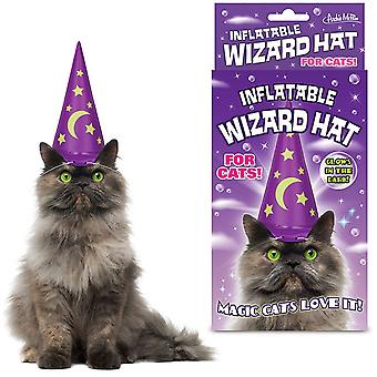 Accoutrements & Friends Inflatable Wizard Hat For Cats
