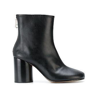Maison Margiela women's S58WU0194SY1109900 black leather ankle boots
