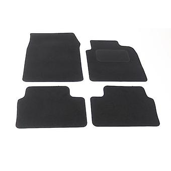 Fully Tailored Car Floor Mats - Opel VECTRA C 2002-2008 Black