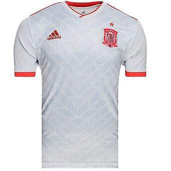 2018-2019 Spain Away Adidas Football Shirt