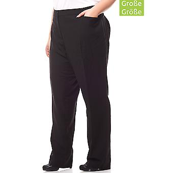 sheego pants ladies business Pant plus size long size black