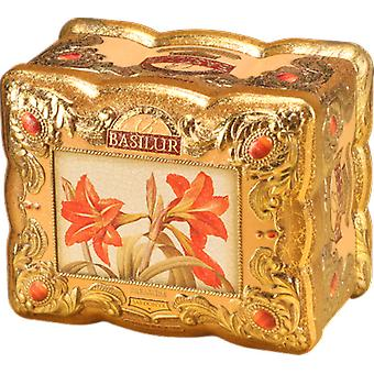 Basilur Tea - Sardonyx Treasure Chest - Loose Black Tea In Tea Caddy