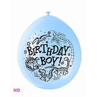 Palloncini 'BIRTHDAY BOY' 9