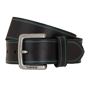 Timberland belts men's belts leather belt of jeans black 6754