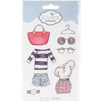 Elizabeth Crafts Clear Stamps-Fashions 3