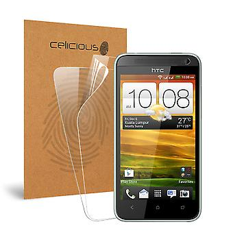 Celicious Vivid Invisible Glossy HD Screen Protector Film Compatible with HTC Desire 501 [Pack of 2]
