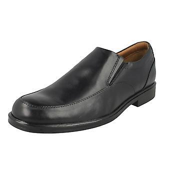 Mens Clarks Slip på sko Gabson trinn