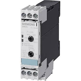 Siemens 3UG4511-1BP20 Three Phase & Mains Voltage Monitoring Relay, Analogue, DPDT-CO