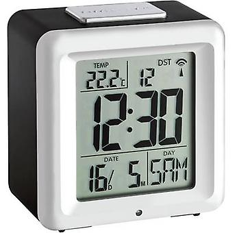 TFA 60.2503 Radio sveglia allarme nero-argento volte 1