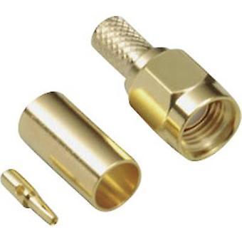 SMA omvendt polaritet kontakten kontakten, rett 50 Ω BKL elektronisk
