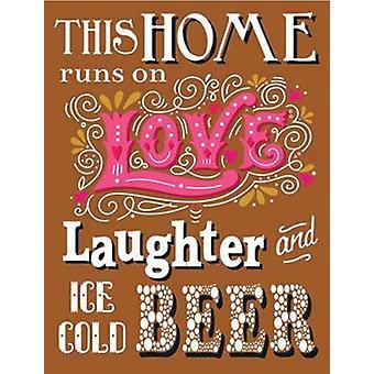This Home Runs On Love... Fridge Magnet