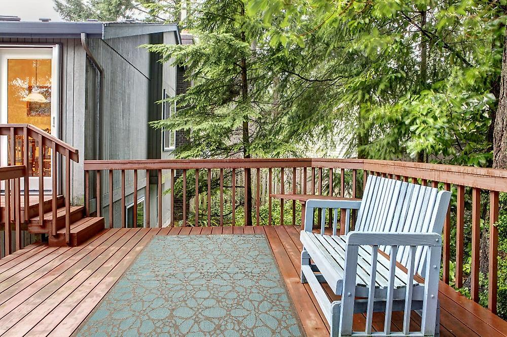 outdoor teppich f r terrasse balkon contemporary fiore aqua 160 230 cm teppich indoor. Black Bedroom Furniture Sets. Home Design Ideas