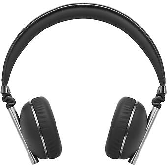 Caeden Linea N°1 On-Ear Headphone for iOS and Android - Convex Carbon & Gunmetal