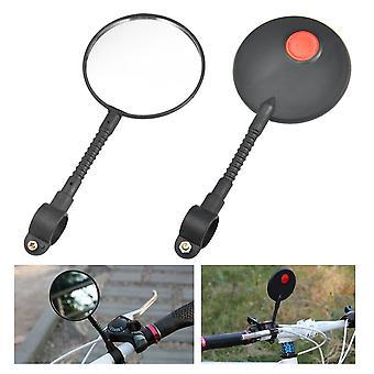 TRIXES luz Super bicicleta Bike guiador espelho retrovisor