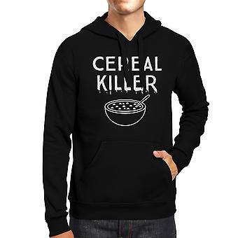 Cereal Killer Funny Graphic Hoodies Black Halloween Horror Nights