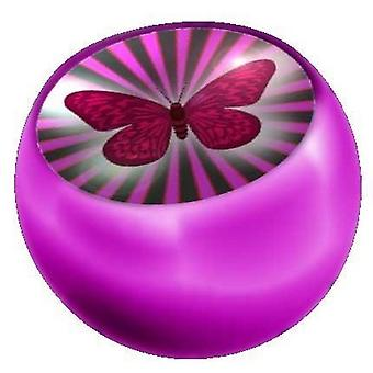Recambio bola rosa, joyería del cuerpo, mariposa de piercing | 1, 6 x 5 y 6 mm