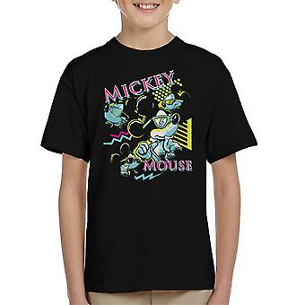 Disney Mickey Mouse Band 80s Vice Kid's T-Shirt