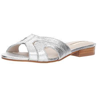 Kenneth Cole New York Women's Viveca Solid Flat Slide Sandal