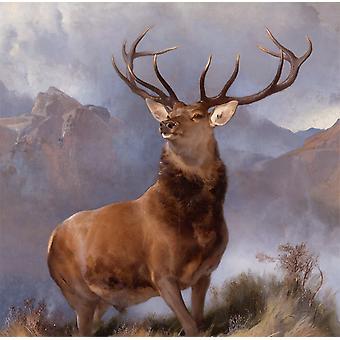 Monarch of The Glen, Edwin Landseer, 61x66cm