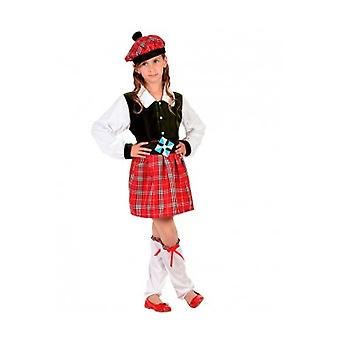 Barna kostymer barn skotske drakt barn girl