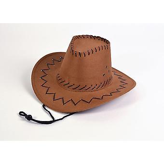 Cowboy Hat.Leather Stich, Childs