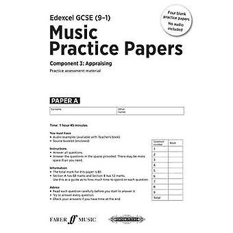 EDEXCEL musik GCSE övar Papers av Julia Winterson - 9780571540044