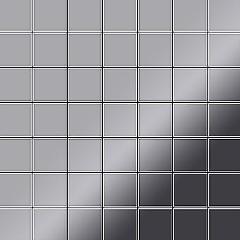 Metal mosaic Stainless Steel ALLOY Attica-S-S-M