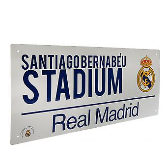 Real Madrid FC Official Street Sign