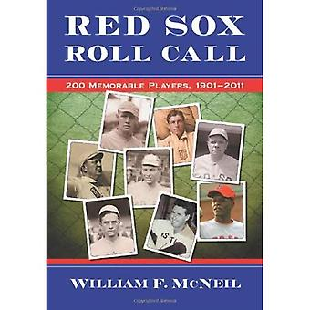 Red Sox Roll Call