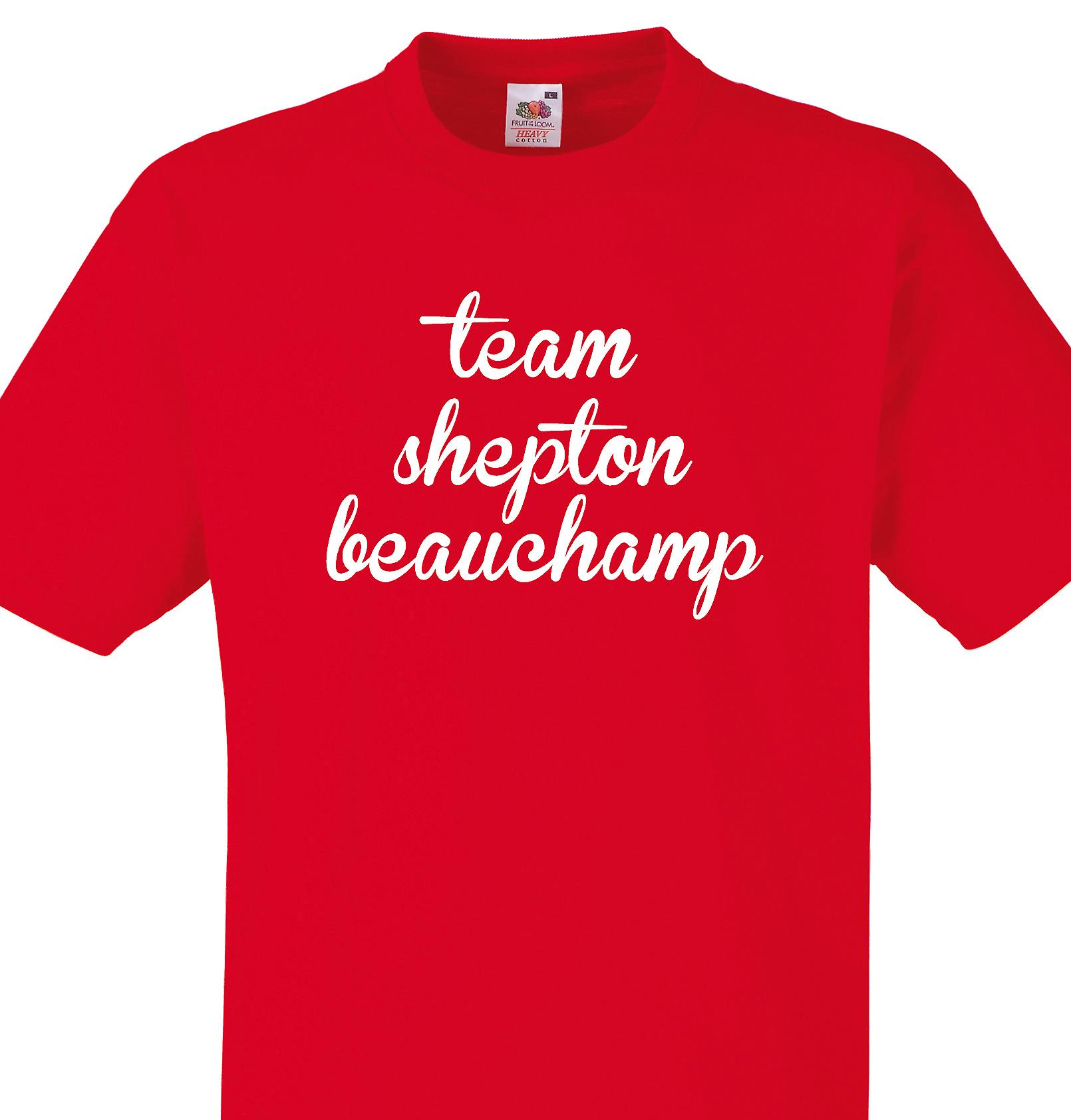 Team Shepton beauchamp Red T shirt