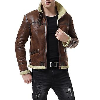 Moto Faux pelle giacca Cloudstyle maschile ispessimento Plus fodera