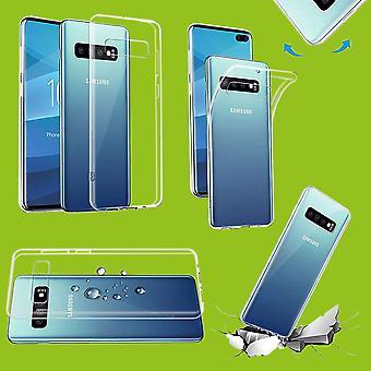 Für Samsung Galaxy S10 Lite G970F S10E 5.8 Zoll Silikoncase TPU Schutz Transparent Tasche Hülle Cover Etui Zubehör Neu