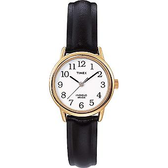 T20433PF Timex Analog women's wrist, skin, gold/black