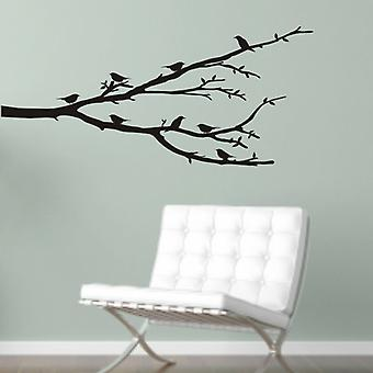Perched Birds wall decal sticker