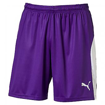 PUMA League s men's football shorts Prism violet-white