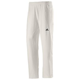 adidas Mens Cricket Whites Batting Bowling Fielding Pant Trouser White