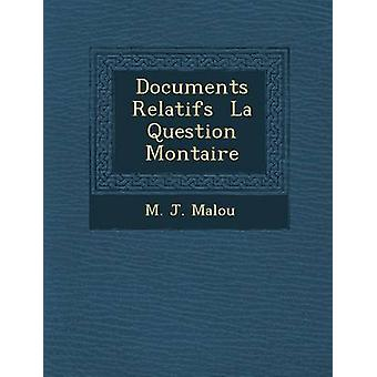 ドキュメント Malou によって Relatifs ラ質問 Montaire ・ m. j.