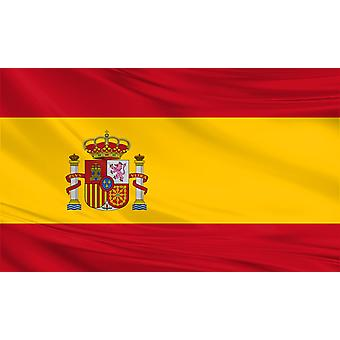 Spanien Flagge 8 ft x 5 ft Polyestergewebe Land National