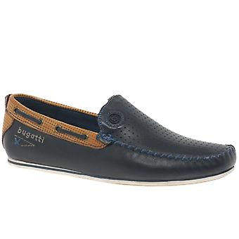 Bugatti Benjy Mens lederen boot schoenen