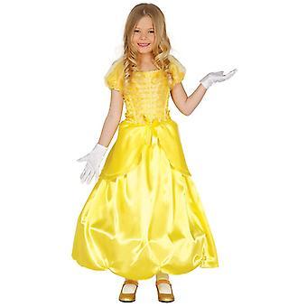 Jeunes filles jaune Costume princesse conte de fées-déguisements
