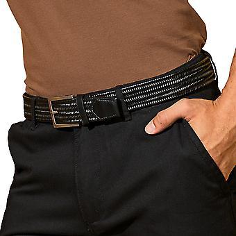 Outdoor Look Mens Leather Adjustable Braid Belt
