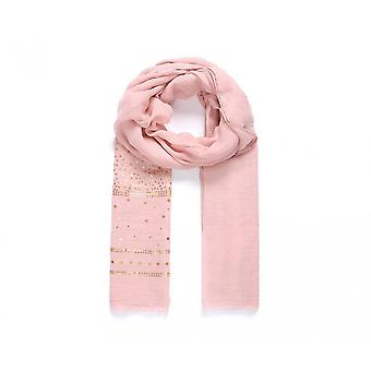 Intrigue Womens/Ladies Stripe Sequin Embellished Scarf