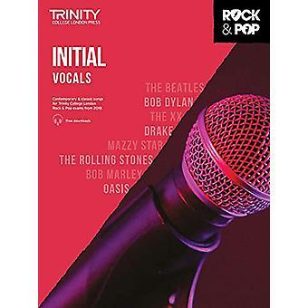 Trinity Rock & Pop 2018 Vocals Initial - 9780857366658 Book