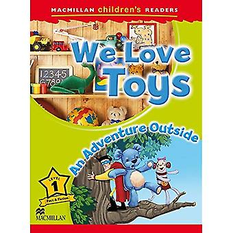 Macmillan Children's Readers Level 1: We Love Toys