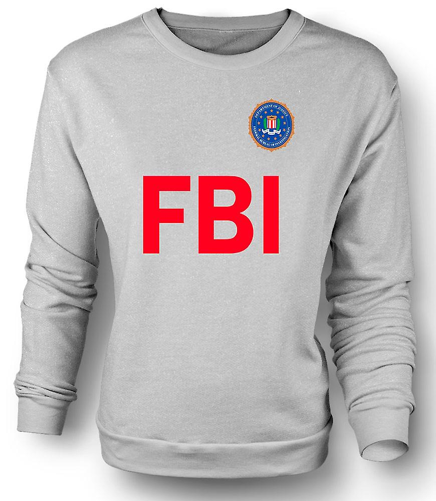 Mens Sweatshirt FBI USA - Police