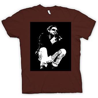 महिला टी शर्ट-माइकल Hutchence INXS-BW