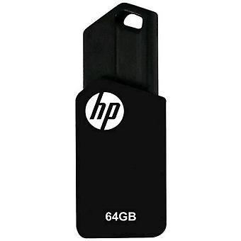 Hp v150w usb stick 2.0 64gb color negro