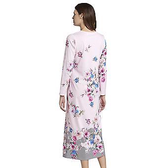 Rosch 1193591-16412 mulheres ' s novo romance rosa floral algodão nightdress